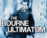 The Bourne Ultimatum (Blu-ray Disc, 2013, Includes Digital Copy; UltraViolet)