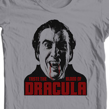 Dracula christopher lee hammer studios taste the blood of dracula horror film t shirt thumb200
