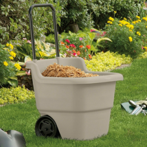 Utility Yard Lawn Garden Cart Durable Tool Rolling Cart Multipurpose Hea... - $45.99
