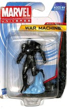 "Marvel Universe Movie Series War Machine 2.5"" Figurine (New Distressed P... - $12.82"