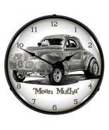 "Collectable Sign and Clock TO711157 14"" Mean Mutha Lighted Clock - $129.95"