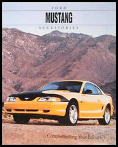 1994 Ford Mustang Accessories Original Sales Brochure - $5.69