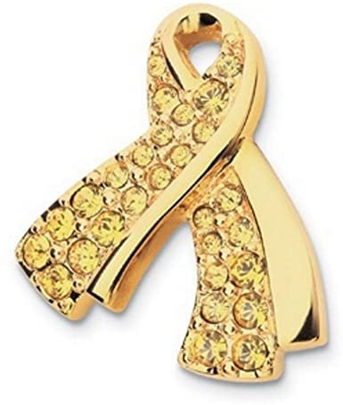 Primary image for Swarovski Crystal USO Pave Yellow Lapel Pin