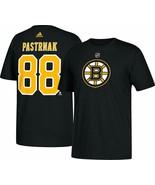David Pastrnak Boston Bruins Adidas Player Name & Number T-Shirt Adult X... - $32.66