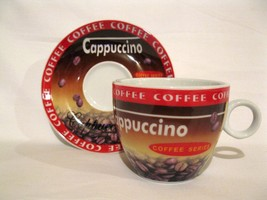 Cappuccino Coffee Cup Beautiful RARE Mint Gift 4 every occassion - $7.45