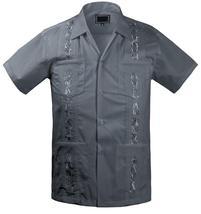 Guayabera Kids Toddler Junior Beach Wedding Baptism Button-Up Casual Dress Shirt image 7