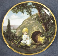 He Is Not Here Collector Plate Precious Moments Bible Story Sam Butcher - $14.95