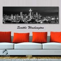 Original by BoxColors Single panel 3 Size Options Art Canvas Print Seatt... - $59.00