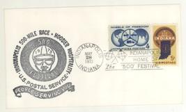 1973 Indianapolis 500 Race Festival Hoosier Hospitality Cover! Scott #1162 - $4.99