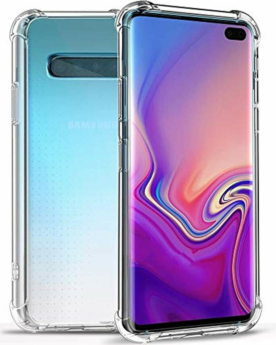 For Galaxy S10 Plus S10 E Case Protector Cover Anti-Scratch Reinforced Corner
