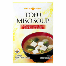 2 PACK HIKARI TOFU MISO SOUP (AUTHENTIC UMAMI DASHI WITH BONITO & KELP) - $14.85