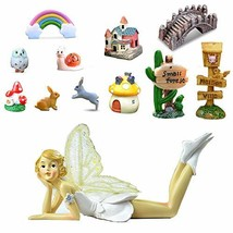 Ren Handcraft 12 Pcs Fairy Garden Supplies-6 inch Garden Fairies with Ga... - $19.54