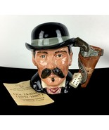 Royal Doulton Doc Holliday Holiday Toby Mug Jug 1984 Wild West Taylor Vt... - $92.80