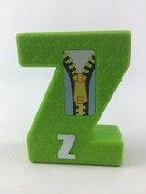 Tyco Sesame Street Textured Alphabet Replacement Letter Z Vintage 1994 - $8.86