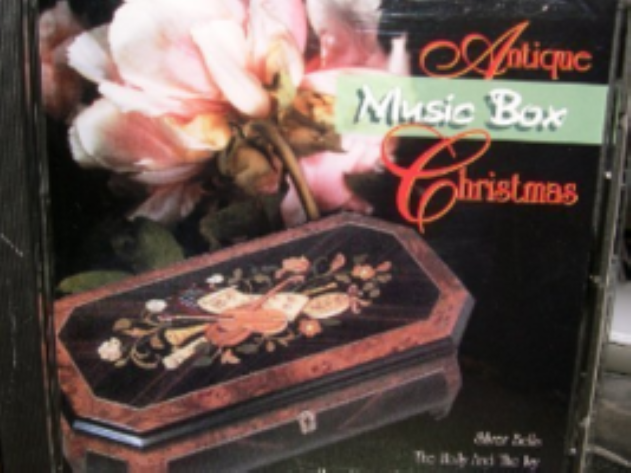 Antique Music Box Christmas Cd