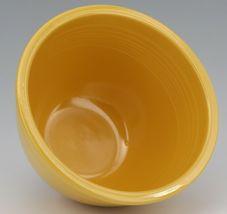 Vintage Original Fiesta #4 Yellow Mixing Bowl No Bottom Rings - EX Condition image 4