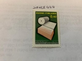 Finland Wood industry 1968 mnh  stamps - $1.20