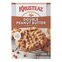 Krusteaz Bakery Style Cookie Mix, Double Peanut Butter, 16-Ounce Boxes Pack of 1