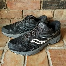 Saucony Cohesion 9 Women's Running Athletic Shoes Size 11M Black/Grey - $27.67