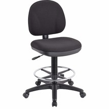Lorell Adjustable Multi-Task Stool, 24 by 24 by 40-1/2 by 50-1/2-Inch, B... - $135.64