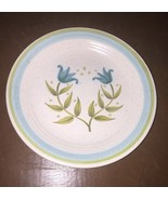 """Franciscan Tulip Time Bread And Butter 6 5/8"""" Plates Vintage Qty 5 - $39.59"""