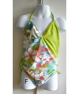 Girls Bathing Suits 1 pc Swimsuit & Sheer Wrap included size 11/12 - $6.95