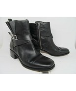 Michael Kors Size 9 Black Ankle Boots Side Zip Womens  - $47.53