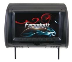 "Farenheit HRD-91CC 9"" Universal DVD Headrest with USB/AUX - $150 - $108.41"