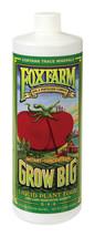 NEW!! FoxFarm Grow Big Fertilizer 32 oz. 6-4-4  Concentrate Fast-acting ... - $29.99