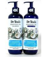 Dr Teal's 16 Oz Coconut & Essential Oils Nourish Moisture Shampoo & Cond... - $32.99