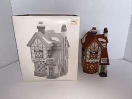 Dept 56 Dickens Village Series BUMPSTEAD NYE CLOAKS & CANES #58084 - $17.50
