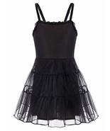 Danna Belle Sleeveless Full Slip for Girls 4-6 Yrs Black - $15.09