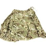 Banana Republic Women's Green Purple Flare Skirt M - $19.79
