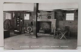 Campus Martius Museum Pioneer Kitchen RPPC Photo Postcard C8 - $7.45