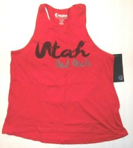 Campus Couture Womens Utah Red Rocks Tank Top Gymnastics Size Medium NWT - $16.99