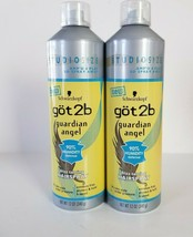 Schwarzkopf Got2b Guardian Angel Frizz Taming Hairspray Studio Size Ampd Aerosol - $38.69