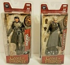 Game of Thrones Jon Snow & Daenerys Targaryen Action Figure HBO McFarlan... - $33.95