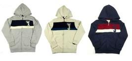 Little Boy's 4-7x Hoodie Nautica 83 Nautical Full Zip Hooded Sweatshirt NEW