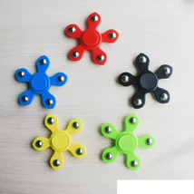 Five Beads Hand Spinner Fidget Fingertips Spiral - 1x w/Random Color and Design image 2