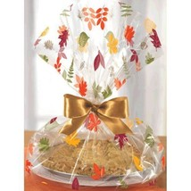 Cello Pie Bags 18 x 16 inches  Leaves Fall 6 Ct - €3,73 EUR
