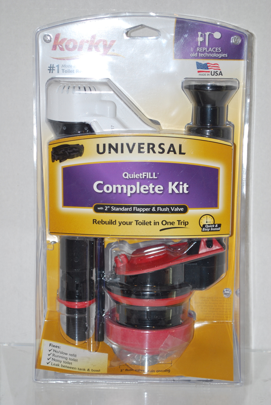 Korky Universal Quietfill Complete Toilet Repair Kit #4010