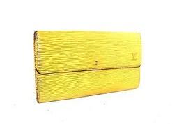 Auth LOUIS VUITTON Portefeuille Sarah epi leather  Bifold Long Wallet SR0070 - $127.71