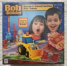Bob the Builder Scoops Construction Site Game 2001 Milton Bradley Factory Sealed - $38.68