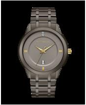 Wittnauer Men's Continental Collection Gray Watch Genuine  Diamond WN3091 - $242.55