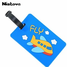 Nistova® Suitcase Travel Accessories Creative Luggage Tag Animal Cartoon... - $7.99