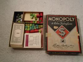 Vintage Monopoly - Salem, Mass, New York, London - No Board - Metal Pieces - $49.99