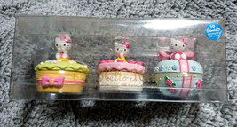 Vintage Sanrio Hello Kitty Container Set of 3 Jewlry Case Limited New In Box  - $132.00