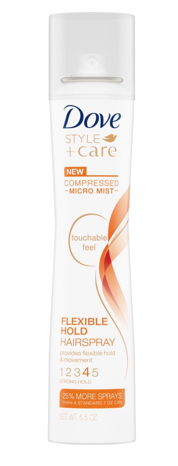 Dove Style + Care Flexible Hold Hairspray, 5.5 oz, #4 Compressed Micro Mist - $8.95