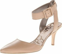 SAM EDELMAN WOMEN'S OKALA DRESS PUMP BLACK NUDE LEOPARD 9.5 M US - $118.79