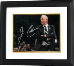 Jim Calhoun signed Connecticut Huskies 8x10 Photo Custom Framed (arms cr... - $85.00